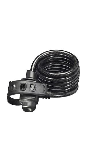 Trelock SK 322 FIXXGO - Candado de cable - 180 cm negro